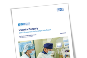 Thumbnail of the vascular surgery report