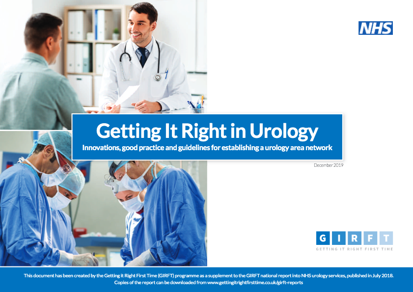 Urology best practice report front cover